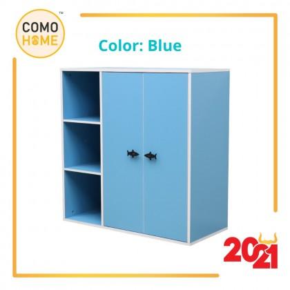 Como Home Children Wardrobe (KW900) Kids storage / Almari Baju Kanak for Boy & Girl