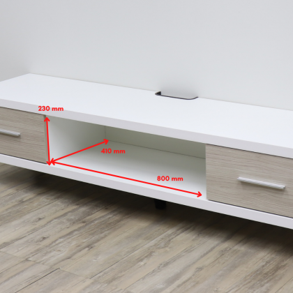 Como Home 6ft TV Cabinet (WTV1811) TV Rack | TV Console Suitable for Homestay | Airbnb (Included Installation)