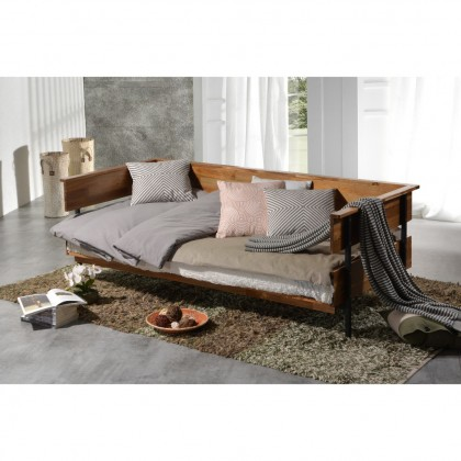 COMO Loca (6508) Solid Wood Day Bed (Delivery with Fully Assembled)