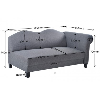 Como Home Lady Sofa Water Repellent Fabric (Our Logistic Delivery)