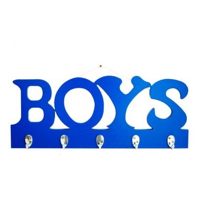 Boys Decorative Hanger - Blue