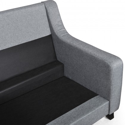 Como Home Kane 2+3 Seater Fabric Sofa (S3127) | Water Repellent Fabric | Ready Stock (Own Logistic Delivery)