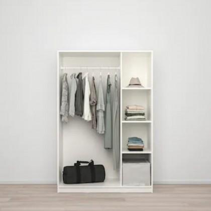 3 Doors Wardrobe (W800+W600) Melamine Laminated