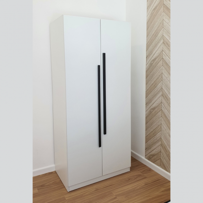 2 Doors Wardrobe (W800) Melamine Laminated