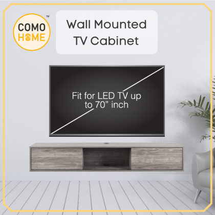 Furniture Set Wall Mounted TV Cabinet | Coffee Table | Shoe Rack | 3 IN 1 Bundle Deal (Included Installation)
