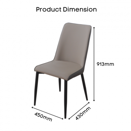 Como Home Dining Chair   Study Chair   Dressing Chair (DC1545)