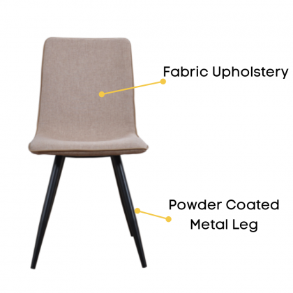 Como Home Dining Chair   Study Chair   Dressing Chair (DC1606)