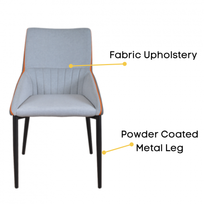 Como Home Dining Chair   Study Chair   Dressing Chair (F53)